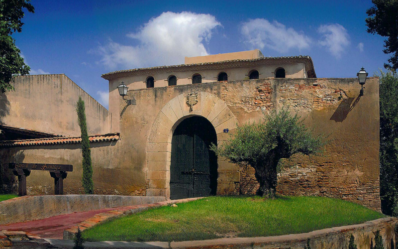 Castell de Santiga