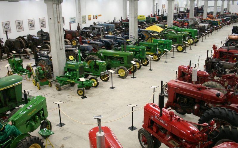 Museu tractor d'època
