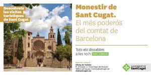 monestir sant cugat visites